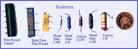 different types of resistors in a circuit welcome to the uk radio project