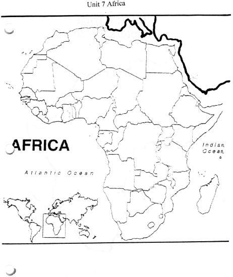best photos of blank physical map of africa africa