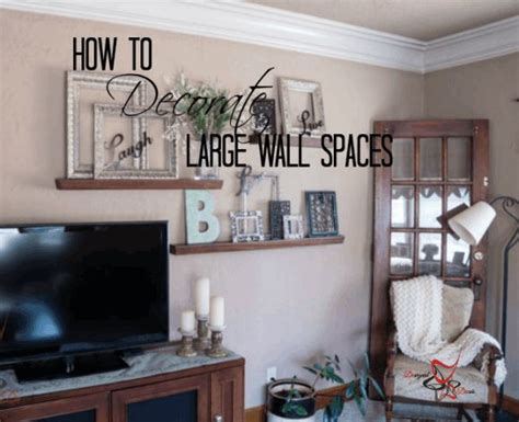large wall decor best 25 decorating large walls ideas on