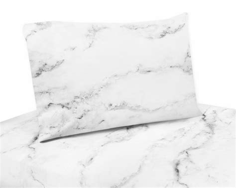 marble bed sheets 3 pc twin sheet set for grey black and white marble bedding collection only 59 99