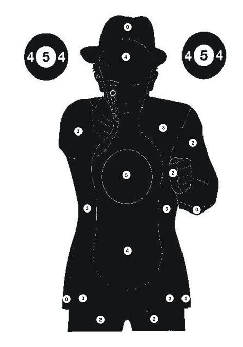 printable animal silhouette targets pin print silhouette human shooting target pictures on