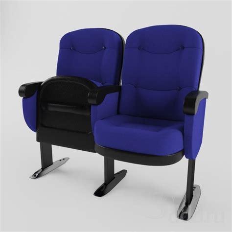 Auditorium Chair 3d Model Free by 3ddd Theater Chair Model Cg Preciux