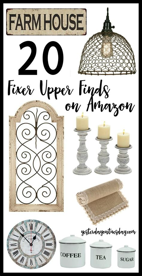 20 fixer style finds on yesterday on tuesday