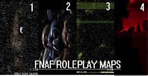 Fnaf 1 4 minecraft roleplay maps minecraft project