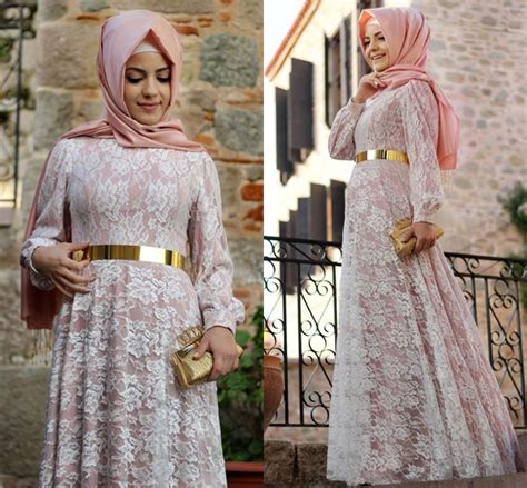 Dress Wanita Dress Muslim Wanita Naira Dress Pink Balotelly never seen before turkish for dresses hijabiworld
