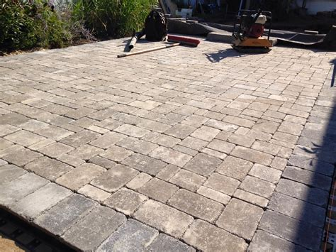 Types Of Pavers For Patio Paver Patio South Clearbrook Landscaping And Lawncare