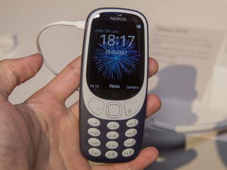Nokia 3310 Model Baru nokia 3310 baru resmi dirilis jadi pakai android