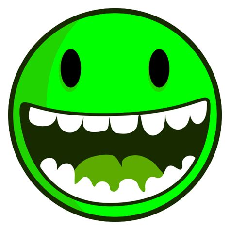 happy green color the gallery for gt green smiley face png