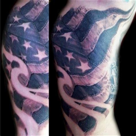 black and grey flag tattoo tattoos