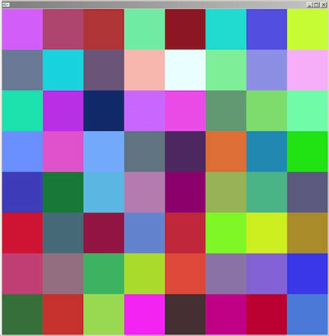 color squares squares different color pictures to pin on