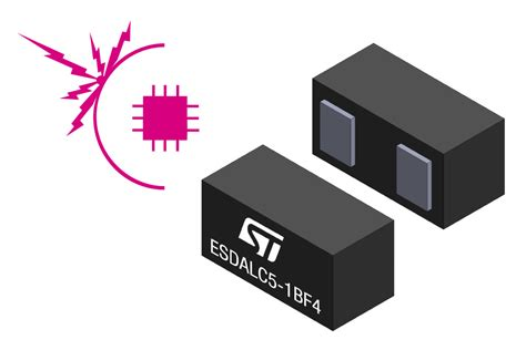 esd diode parasitic capacitance stmicroelectronics new esd protection device in 0201 package can sustain 16 kv esd surge