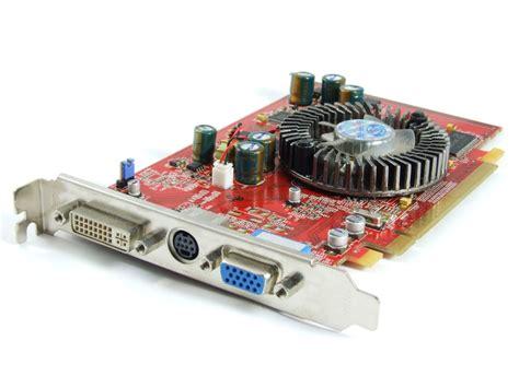 Vga Card Amd Radeon ati amd radeon x550 128mb ddr pcie card gpu dvi vga tv out 1024 mc49 1a sa ebay