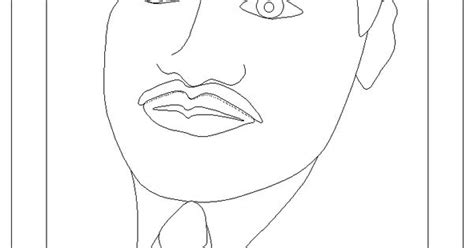Dltk Coloring Pages Martin Luther King by Templates And Coloring Sheet From Dltk Martin Luther