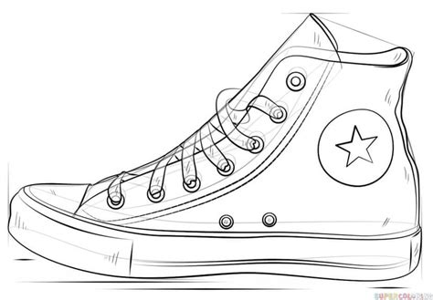 how to draw a boat figure 8 how to draw a converse shoe step by step drawing tutorials