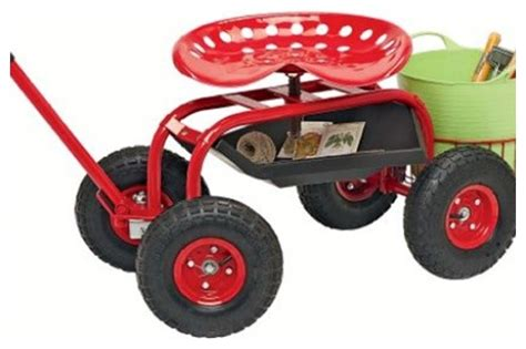 garden scooter tractor seat garden tractor scoot traditional utility carts by