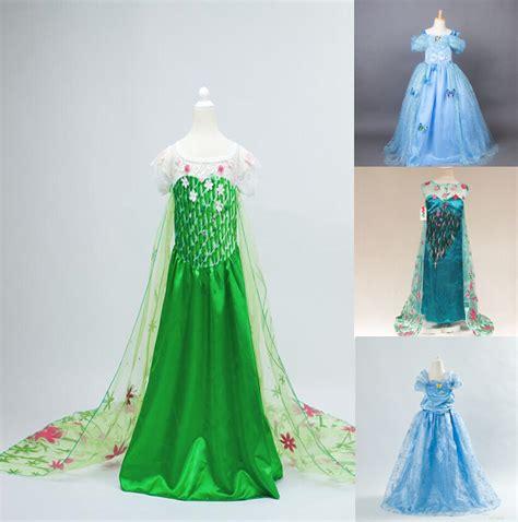 Cinderella Dress 9 retail 2015 cinderella elsa dresses dress princess