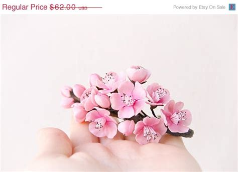 Hochzeit Sale by On Sale 35 Pink Flower Cherry Blossom Fascinator