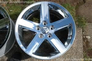 dodge ram oem factory 20 quot chrome clad wheels hemi 1500