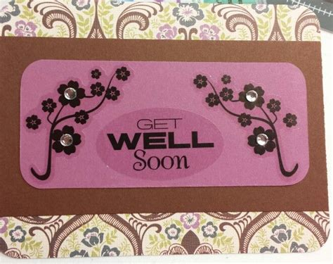 get well soon cards to make diy get well soon card card