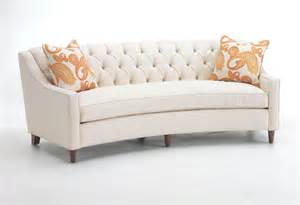 Sofa Curved Portland Furniture Flores Design Curved Sofa