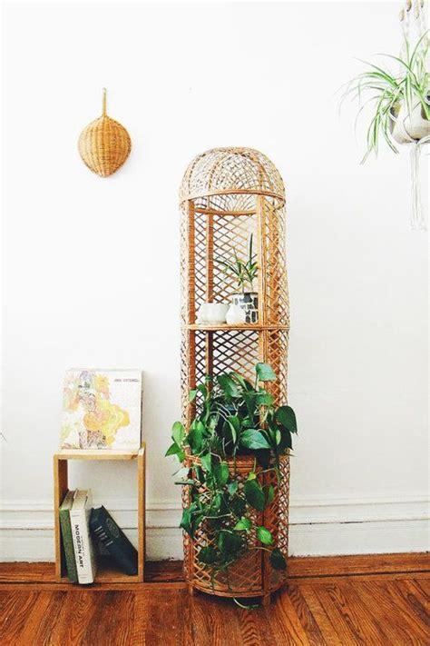 Woven Plant Holder - best 25 bamboo shelf ideas on asian interior