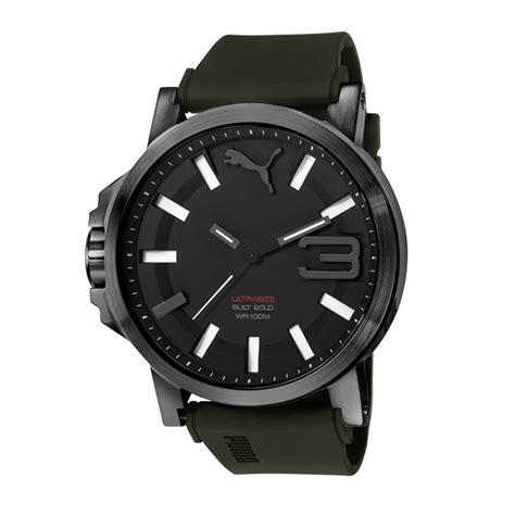 Ultrasize 50 Silver Army Pu103461013 uhr armbanduhr herrenuhr ultrasize black army green