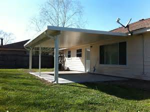 patio covers aluminum aluminum patio cover and house gutter in la porte tx 187 a 1