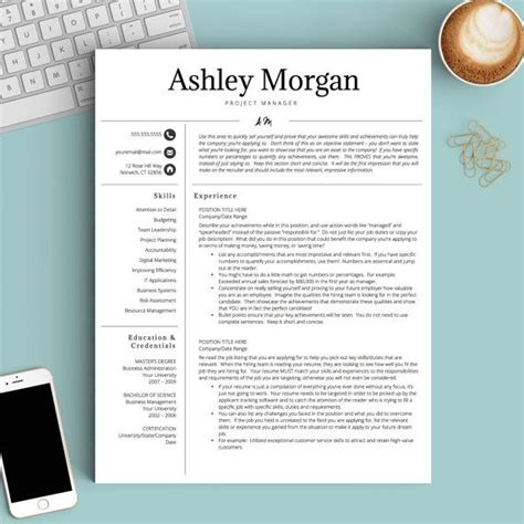 Resume Template Ideas by 134 Best Resume Templates Images On Resume