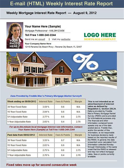 free mortgage flyer templates get a free sle account images frompo