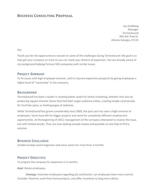 consultant offer letter template consultant template sle consulting project