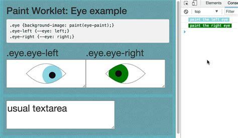 javascript layout constraint css houdini from css custom properties to javascript