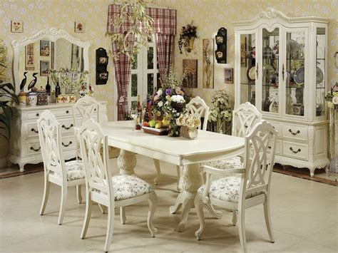 furniture decorative interior white dining room tables