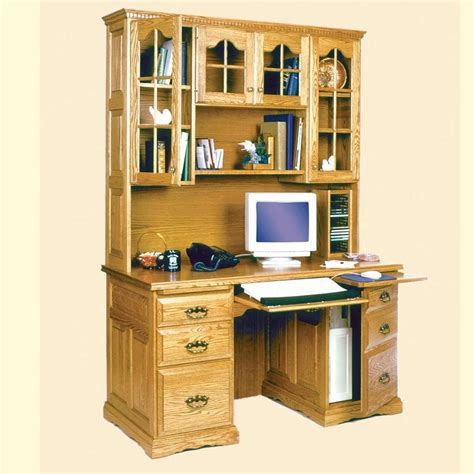 flat computer desk 55 quot flat top computer desk w hutch raised panel