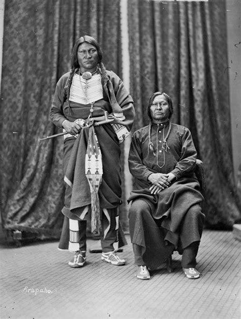 Friday and Crazy Bull - Arapaho 1873.