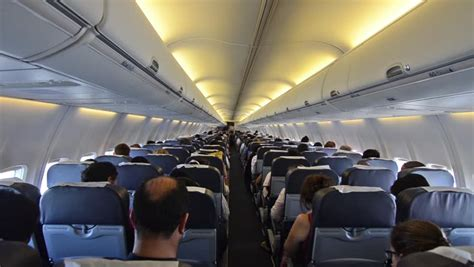 airplane upholstery airplane stock footage video shutterstock