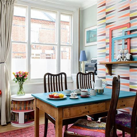 dining room victorian terrace  leicestershire house
