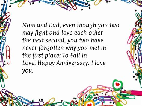 Wedding Anniversary Quotes For Your Parents by Anniversary Quotes For Your Parents Quotesgram