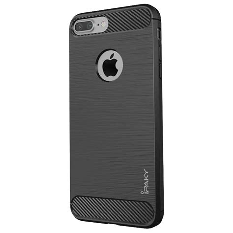 Casing Ipaky Carbon Slim Cover Armor Tpu For Hp Vivo V5 T2909 1 ipaky slim carbon cover tpu for iphone 8 plus 7 plus grey grey hurtel pl gsm