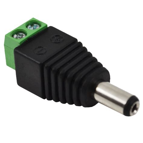 Connector Dc And Dc Cctv Security Adapter 12v Power