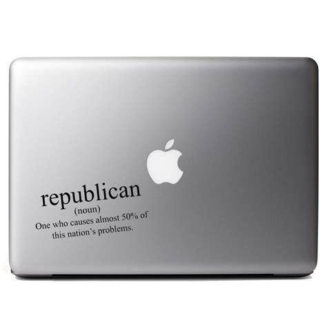 Lustige Aufkleber Laptop by Republican Definition Political Vinyl Sticker Laptop