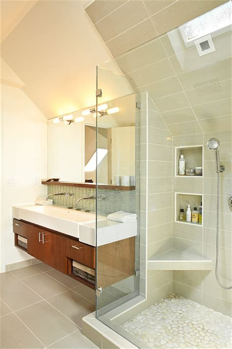 attic bathroom ideas efficient use of your attic 18 sleek attic bathroom