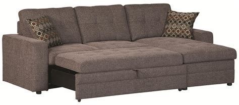 pull out sofa bed value city coaster gus sectional sofa with tufts storage and pull