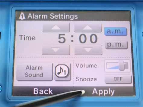 format audio dsi xl how to use a dsi as an alarm clock 10 steps with pictures