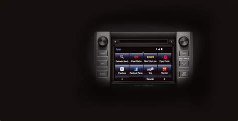 toyota entune app suite toyota entune 174 toyota in car technology gps
