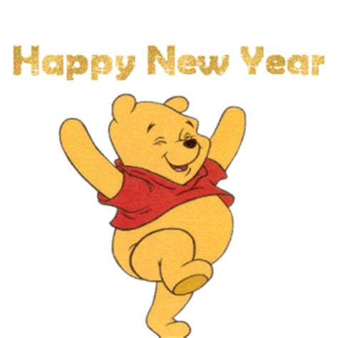 new year card new year pooh cards winnie the pooh happy
