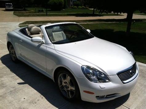 lexus convertible 2008 sell used 2008 lexus sc430 base convertible 2 door 4 3l in