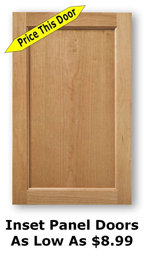 Unfinished Wood Replacement Kitchen Cabinet Doors: More