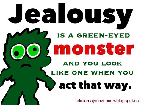 jealousy themes quotes jealousy the green eyed monster publish with glogster