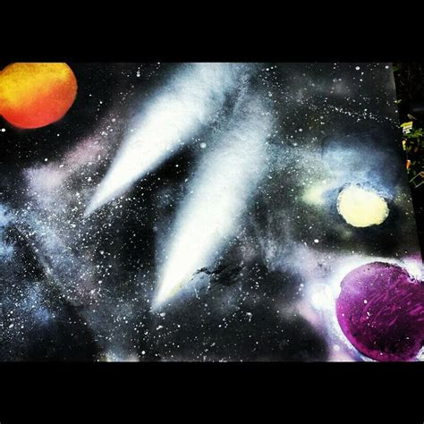 spray paint universe 39 best outer space project images on outer