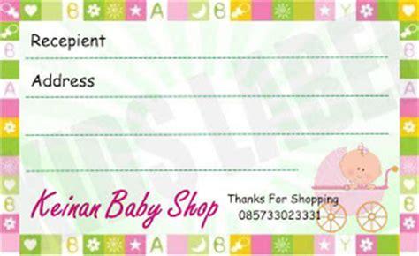 Label Ol Shop stiker label pengiriman ol shop stiker label nama
